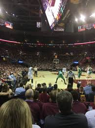 Cavs Floor Box Seats by Photos At Quicken Loans Arena