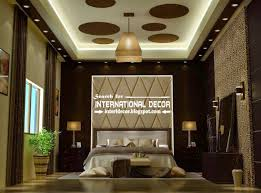 Classic Dining Room With Luxury Modern Pop Ceiling Interior Decorations Ideas