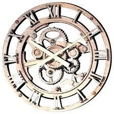 Moving Wall Clock Gear Old Industrial Clocks Steampunk Gears