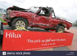 Toyota Hilux As Demolished On The BBC Television Program
