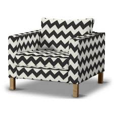 Karlstad Armchair Cover Grey by Products Dekoria Co Uk