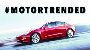 100 Motor Trend Truck Of The Year History How Tesla Model 3 Got Ed And Lost Car Of The