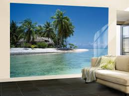 Wall Mural Decals Beach by Living Room Wallpaper Murals Beach Images Of Wall Murals Huge 6 On