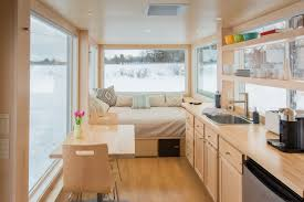 100 Tiny House On Wheels Interior House RVs Inspired By Frank Lloyd Wright Let You Travel