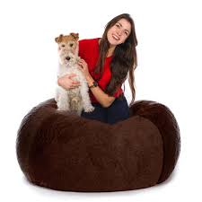 Bean Bag Bed For Dogs Korrectkritterscom Large Brown Faux Leather Bean Bag Chair In Kt12 Elmbridge For 2000 Tips Dark Brown Faux Leather Bean Bag Chairs Walmart For Cozy Shop Majestic Home Goods Towers Classic Chair Smalllarge Bessie And Barnie Signature Luxury Extra Plush Fur Bagel Dog Shorn Sheepskin Oyster The Wool Company Giant Huge 7 Best Of 2019 Stuffed Animal Storage Blue Jaxgizmos Big Joe Xxl Fuf Review Slalom Navyblue Smartmax Spandex 1170286