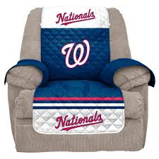 Stretch Suede Wing Chair Recliner Slipcover by Mlb Washington Nationals Recliner Slipcover Recliners