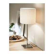 Ikea Alang Floor Lamp Uk by Aläng Table Lamp Nickel Plated White Ikea