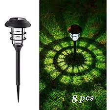 Amazon GIGALUMI Solar Pathway Lights Outdoor Waterproof