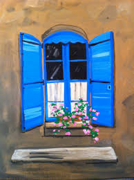 Blue Shutters On 6 3 2016 70000 PM