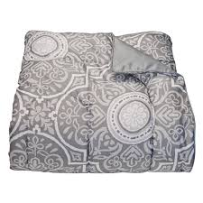 calypso gray college classic twin xl comforter dorm bedding and