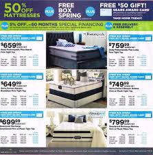 Black Friday 2015 Sears Mattress Ad Scan BuyVia