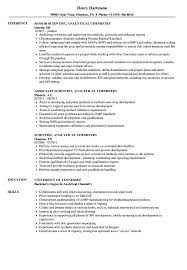 Scientist, Analytical Chemistry Resume Samples | Velvet Jobs Chemist Resume Samples Templates Visualcv Research Velvet Jobs Quality Development 12 Rumes Examples Proposal Formulation Lab Ultimate Sample With Additional Cv For Fresh Graduate Chemistry New Inspirational Qc Job Control Seckinayodhyaco 7k Free Example