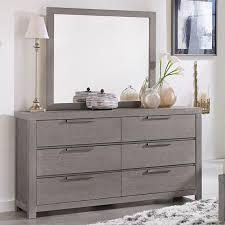 Vaughan Bassett Dresser With Mirror by Vaughan Bassett American Modern Dresser U0026 Landscape Mirror