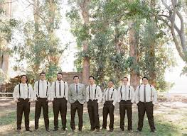 Groomsmen Attire With Mismatched Ties This Is Great
