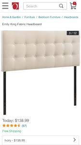 Wayfair King Fabric Headboard by 27 Best Most Popular Headboards Images On Pinterest Queen
