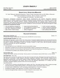 Full Size Of Operations Manager Sample Resume Gallery Creawizard Com Template Word Ideas Pdf