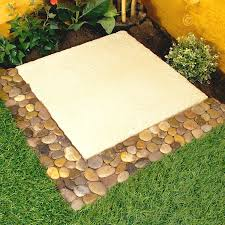 Sliced Pebble Tile Canada by Great Ideas Garden Border Pebble Strips Also For Tiled Bathroom