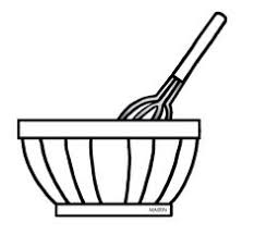 bowl 20clip 20art mixing bowl white xl 648—603 pixels · Clipart Black And WhiteCateringBakingWorkshopBread