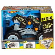 100 Tmnt Monster Truck Hot Wheels Jam Colossal Carrier Toymate