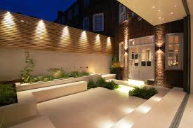 Garden Lighting Designs Outdoor Ideas Inspirations Also Minimalist Picture