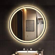 led beleuchteter spiegel beleuchteter schminkspiegel
