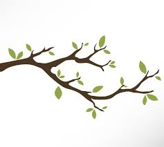 Tree Branch Vinyl Wall Decal Sticker Leaves Modern Contemporary Nursery Living Room Bedroom Baby Whimsical