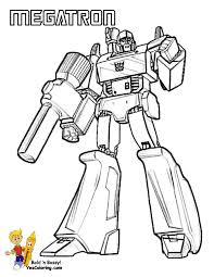 Transformers Coloring Pages Megatron At YesColoring