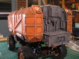 ArtStation - Toybash RC SCI FI Truck, David Rutherford