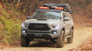 This 2017 Toyota Tacoma TRD Pro Is Ready To Go - The Drive New 2018 Toyota Tacoma Trd Sport Double Cab In Elmhurst Offroad Review Gear Patrol Off Road What You Need To Know Dublin 8089 Preowned Sport 35l V6 4x4 Truck An Apocalypseproof Pickup 5 Bed Ford F150 Svt Raptor Vs Tundra Pro Carstory Blog The 2017 Is Bro We All Need Unveils Signaling Fresh For 2015 Reader