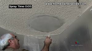 Skip Trowel Over Popcorn Ceiling by How To Apply A Skip Trowel Texture Peck Drywall And Painting