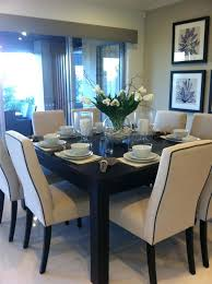 Room And Board Table Square High Dining Gray