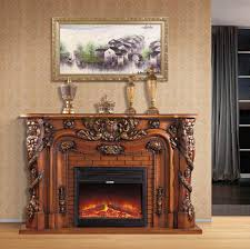Get Quotations 18 Meters Fashion White Fireplace Rustic Solid Wood American Style Electric Decoration Cabinet Frame