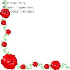 floral corner border clipart & stock photography
