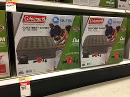 Coleman GuestRest Queen Air Mattress ly $42 25 at Tar
