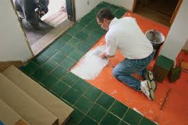 Tile Underlayment Membrane Home Depot by Tile Foyer Installation Ep 1 Subfloor Membrane And Layout