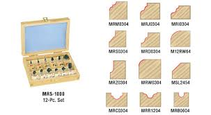 miniature router bit set for fine wood model making toolstoday