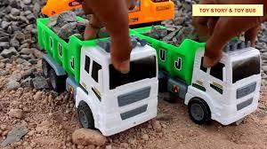 100 Dump Truck Video For Kids Alphabets Monster