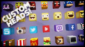 Minecraft How To Get Custom Heads