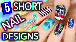 5 Easy Nail Art Designs For SHORT NAILS (Holosexuals) | PART #1 ... Nail Designs Art For Short Nails At Home The Top At And More Arts Cool To Do Funny Design 2017 Red Beginners Without Polish Ideas Easy Nail Art Designs For Short Nails 3 Design Ideas How You Can Do It Home Easter In Perfect Image Simple Fantastic Easy S Photo Plain