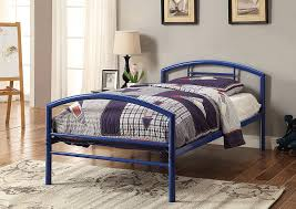 Your Cost Furniture Cool Grey Twin Bed