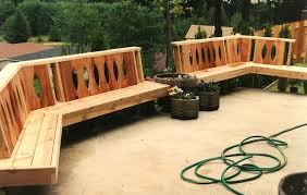 patio bench plans free landscaping gardening ideas