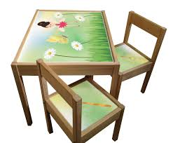 Set Of Sticker Designs For IKEA Latt Kids Table And Chairs Ikea Mammut Kids Table And Chairs Mammut 2 Sells For 35 Origin Kritter Kids Table Chairs Fniture Tables Two High Quality Childrens Your Pixy Home 18 Diy Latt And Hacks Shelterness Set Of Sticker Designs Ikea Hackery Ikea