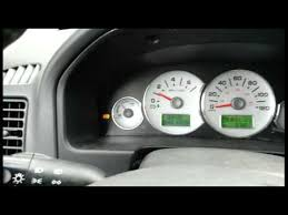 2007 ford escape cluster removal
