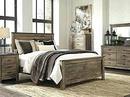 Rustic Industrial Bedroom Furniture Large Size Of
