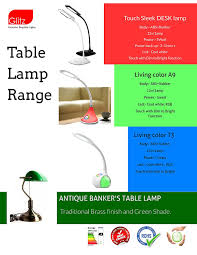 Antique Bankers Lamp Green by Buy Table Lamp Banker U0027s Style Green Glass Shade Antique Brass