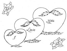 I Love You Coloring Pages Printable