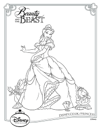 Disney Princess Colouring Pages 23