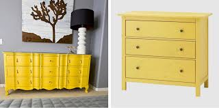 Hemnes 3 Drawer Dresser As Changing Table by Black White Yellow Yellow Dressers