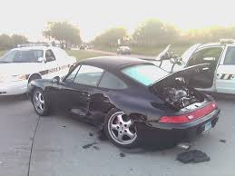My Crashed 993/96 For Sale As