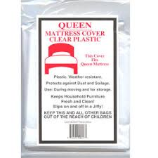 Plastic Bags for Moving & Shipping Mattresses Bag